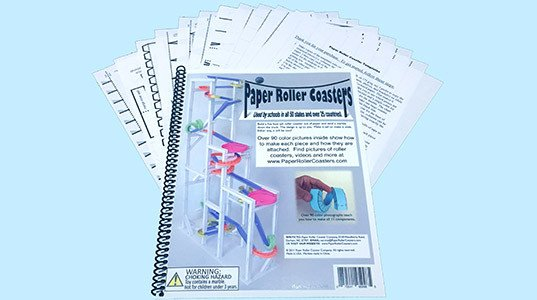 Paper Roller Coaster Template Paper Roller Coasters