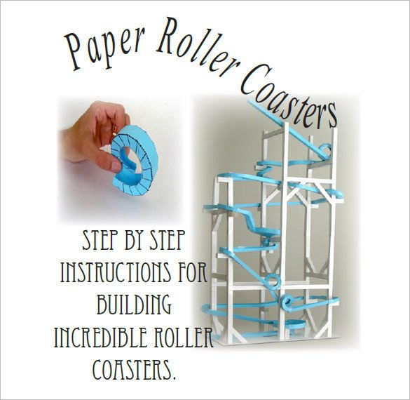 Paper Roller Coaster Templates 22 Paper Templates & Samples Doc Pdf Excel