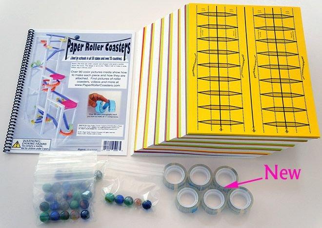 Paper Roller Coaster Templates Paper Roller Coaster Set Cfk