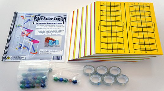 Paper Roller Coaster Templates Paper Roller Coasters