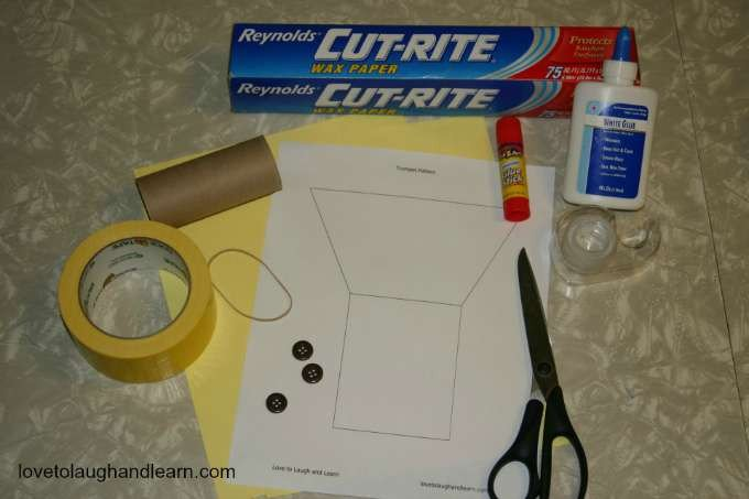 Paper Trumpet Craft Template Learning Fun Archives Page 2 Of 8 Love to Laugh and Learn