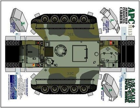 Papercraft Tank Template 34 Best 3d Car Puzzles Images On Pinterest