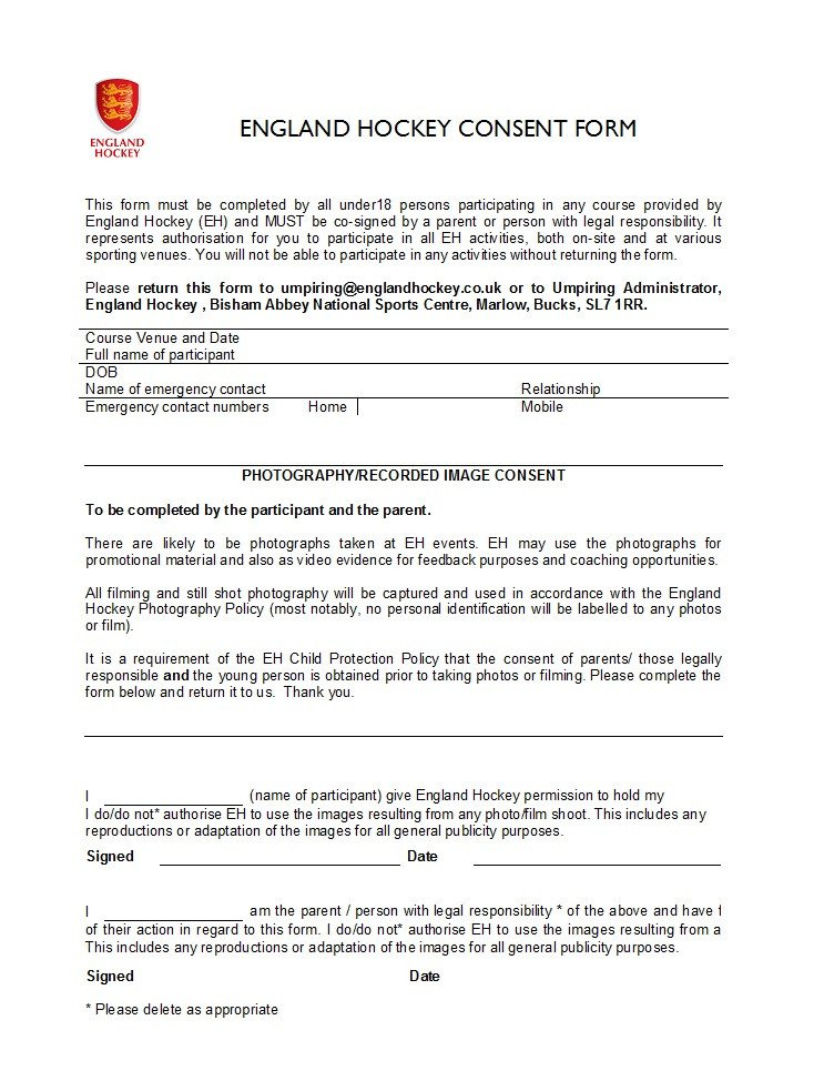 Parental Consent form Template 50 Printable Parental Consent form & Templates Template Lab