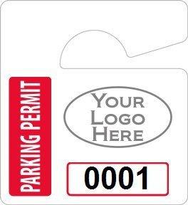 Parking Permit Template Word Amazon Plastic toughtags Parking Permit Mini
