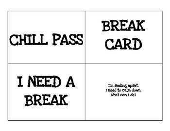 Pass Down Log Template Chill Pass Break Card Visuals by the Lighting Of A Fire