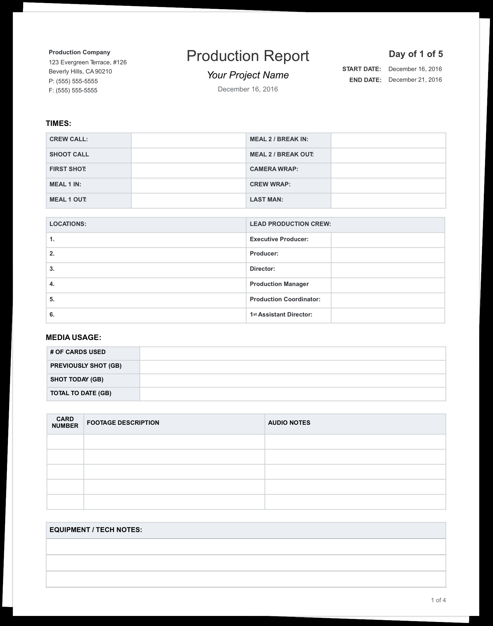 Pass Down Log Template the Daily Production Report Explained with Free Template