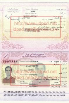 Passport Photo Template Psd Template Jordan Passport Psd Passport Psd