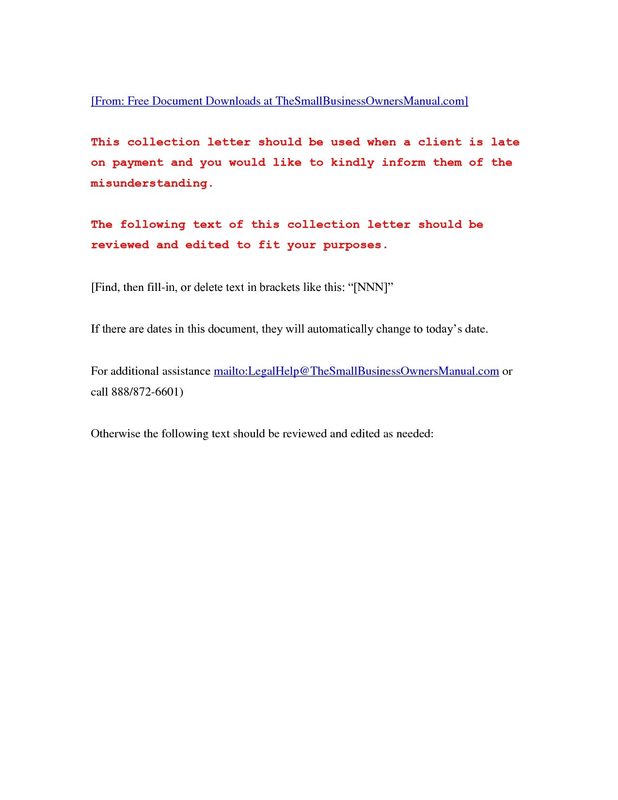 Past Due Invoice Template Overdue Invoice Letter