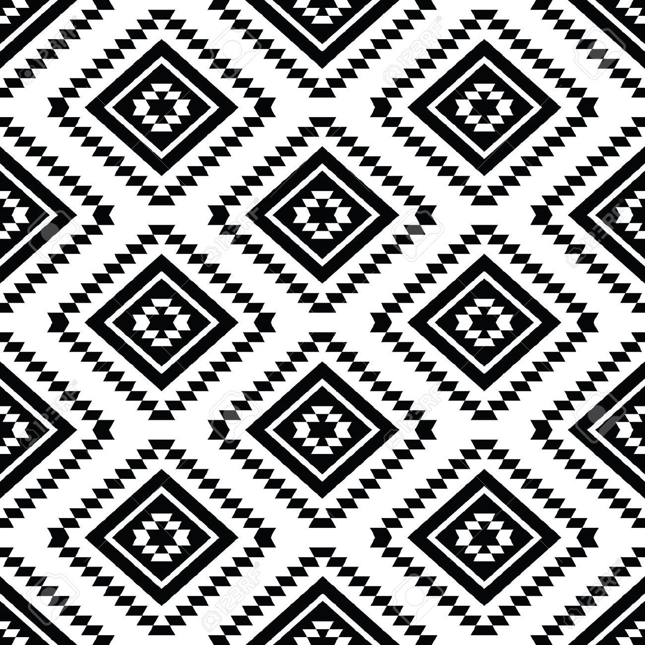 Patterns Black and White 27 Best Aztec Patterns Wallpapers