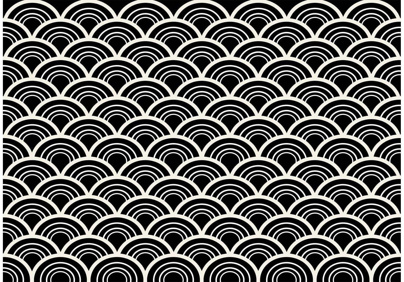 Patterns Black and White Black and White Seamless Abstract Pattern Vector