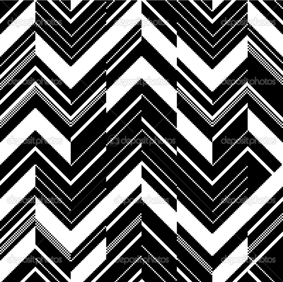 Patterns Black and White Depositphotos Pattern In Zigzag—black and White