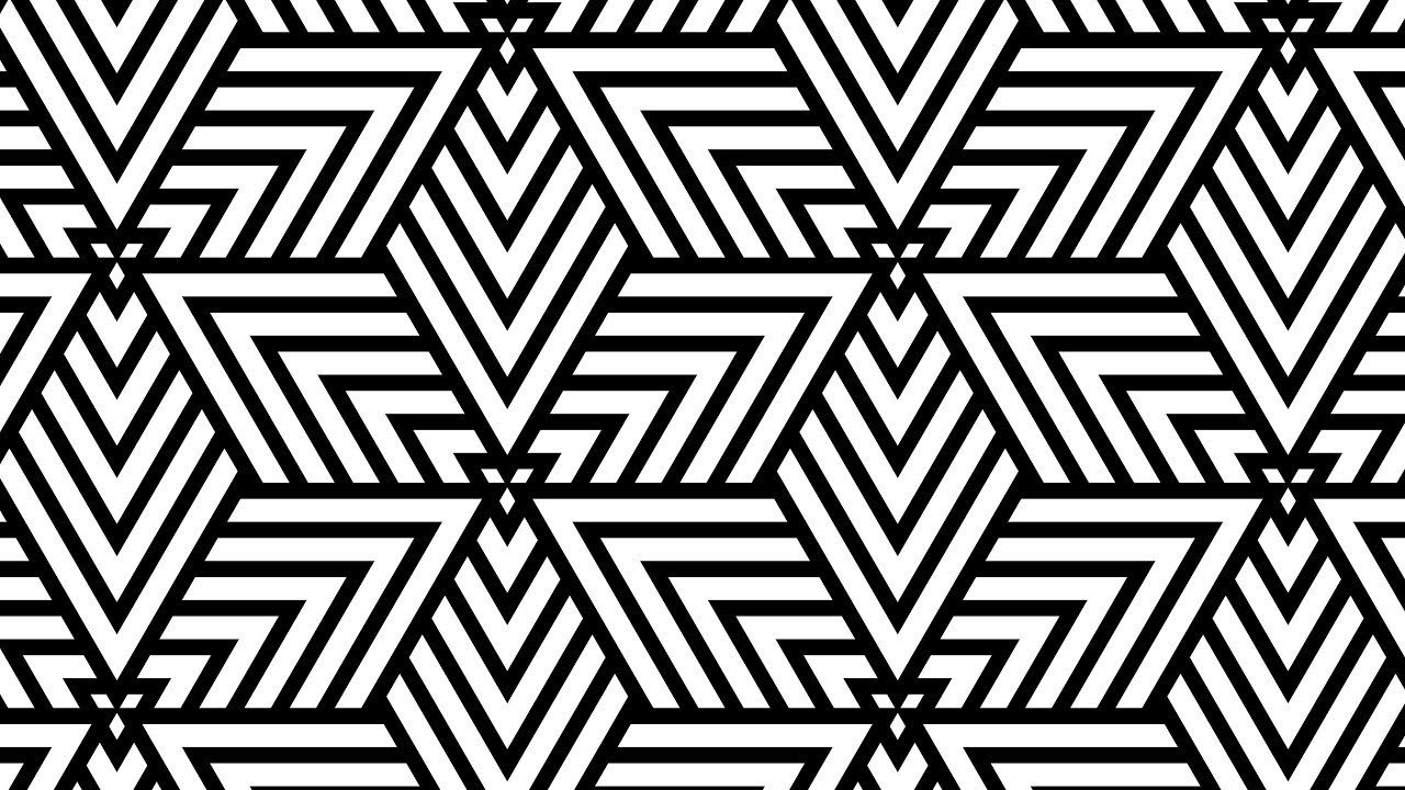 Patterns Black and White Design Patterns Geometric Patterns