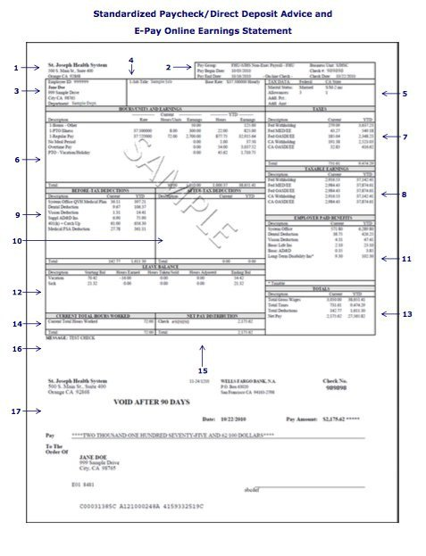 Payroll Check Stub Template 25 Great Pay Stub Paycheck Stub Templates