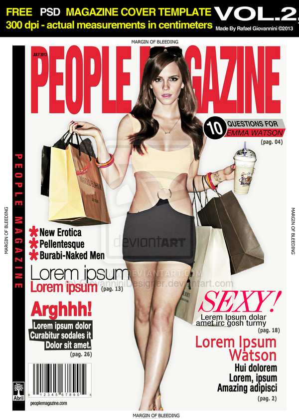 People Magazine Cover Template Free Psd People File Page 4 Newdesignfile