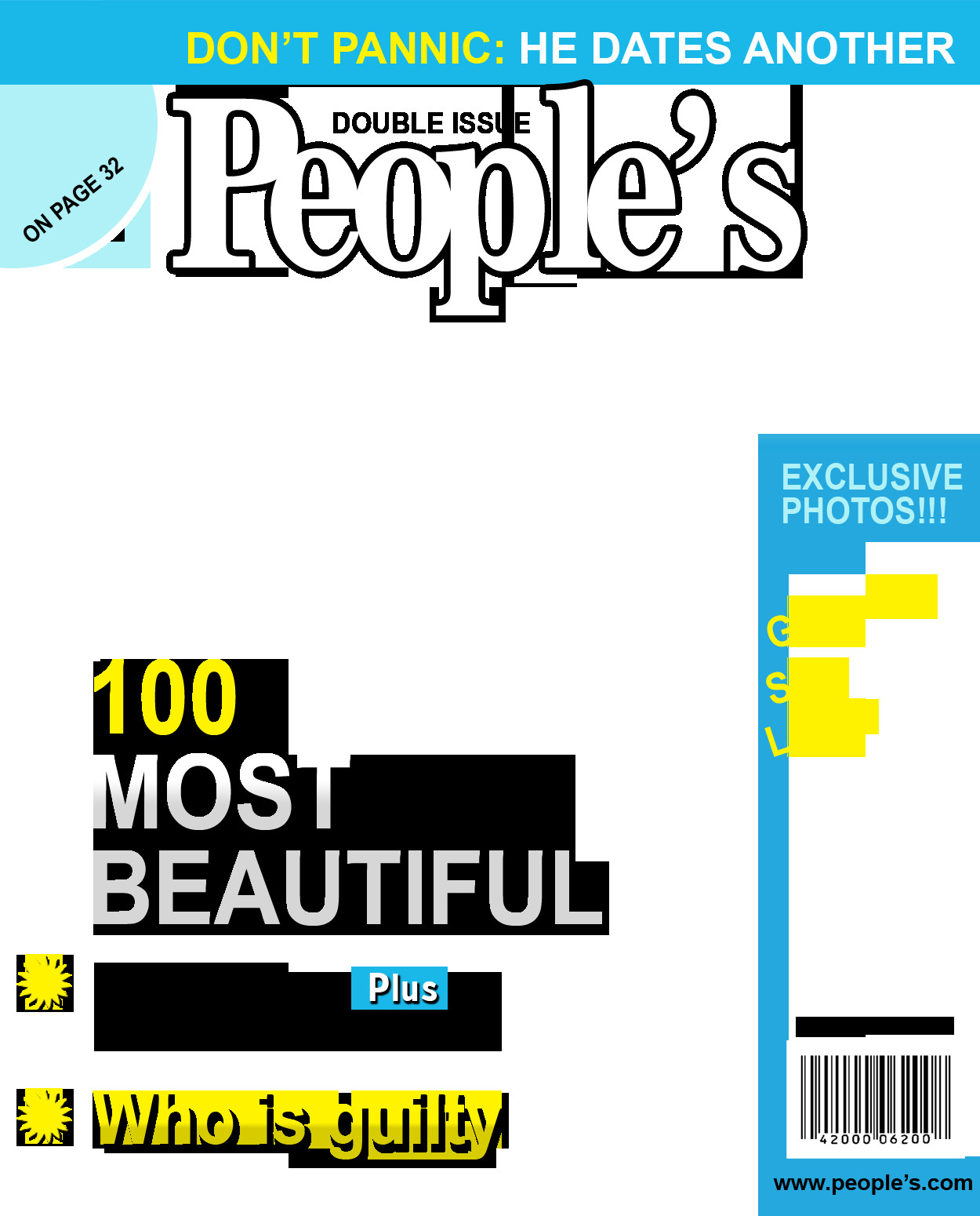 People Magazine Cover Template Inmagazines Fake Magazine Cover Generator