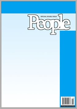 People Magazine Cover Template Make Your Own Fake Magazine Cover How to Make A People