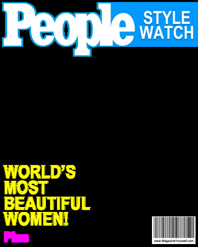 People Magazine Cover Template Png Magazine Covers Transparent Magazine Covers Png