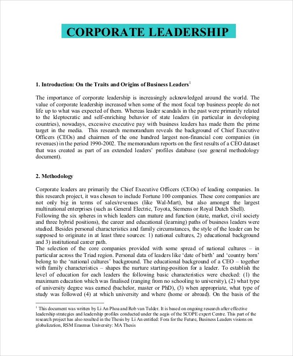 Personal Leadership Philosophy Examples 8 Leadership Philosophy Examples