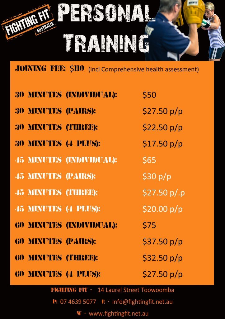 Personal Training Pricing Template Index Of Wp Content 2013 01