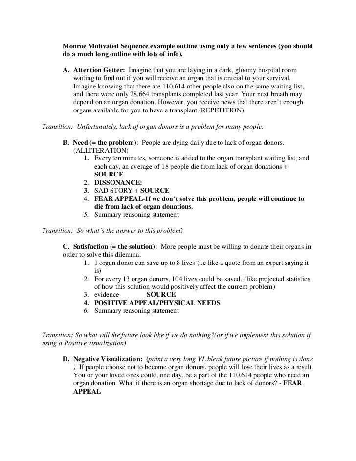Persuasive Speech Outline Examples New Persuasive Speech Outline