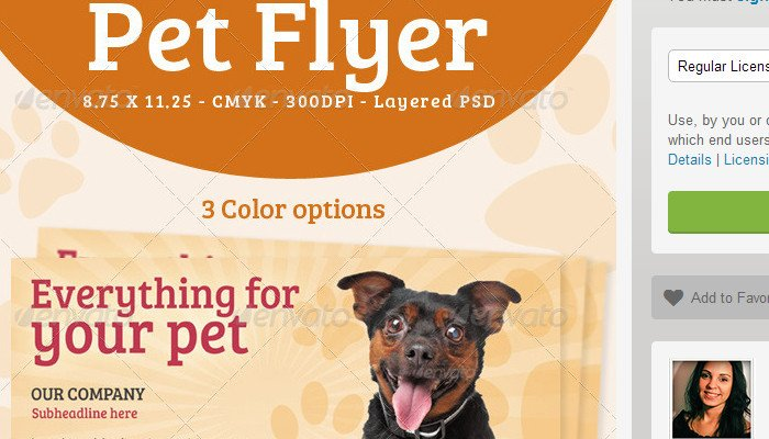 Pet Sitting Flyer Template 5 Pet Sitting Flyer Templates