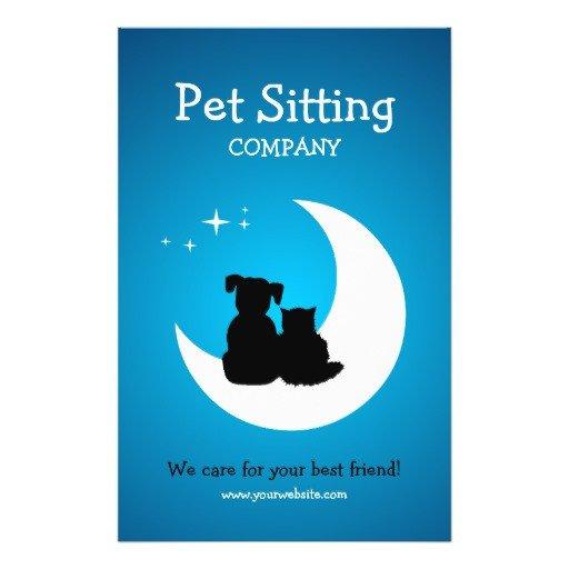 Pet Sitting Flyer Template Pet Care Pet Sitting Business Flyer