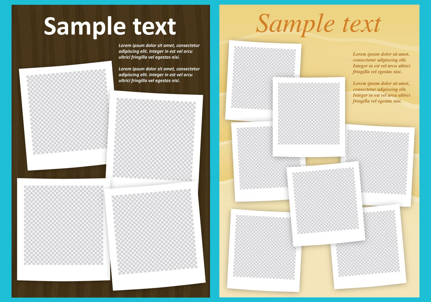 Photo Collage Template Download Collage Templates Download Free Vector Art Stock