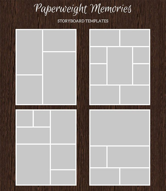 Photo Collage Templates Free Download 82 Storyboard Templates Pdf Ppt Doc Psd