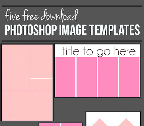Photo Collage Templates Free Download How to Create A Shop Image Template and Free