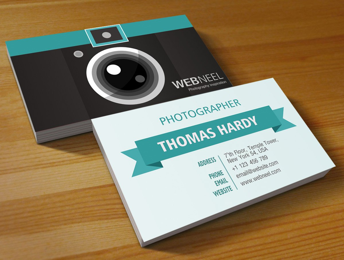 Photography Business Card Templates Graphy Business Card Design Template 39