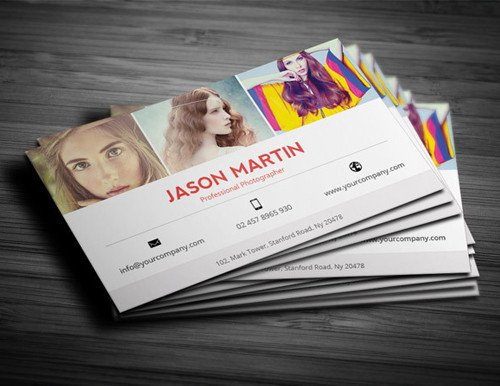 Photography Business Card Templates Graphy Business Card Templates Design