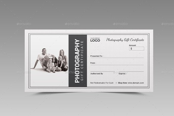 Photography Gift Certificate Template 12 Graphy Gift Certificate Templates – Free Sample
