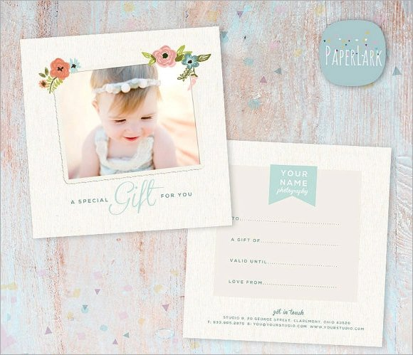 Photography Gift Certificate Template Graphy Gift Certificate Template 12 Download