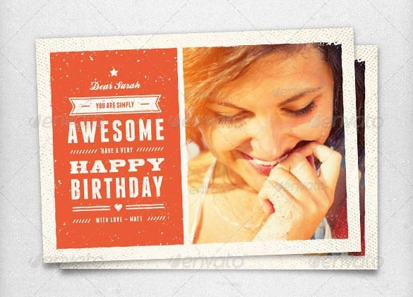 Photoshop Birthday Card Template Birthday Card Template 11 Psd Illustrator Eps format