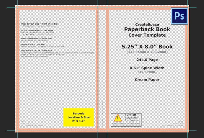 Photoshop Book Cover Template Create You A Custom Photoshop Template to Design Your