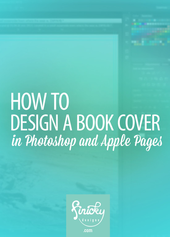 Photoshop Book Cover Template How to Design A Book Cover In Shop and Apple Pages