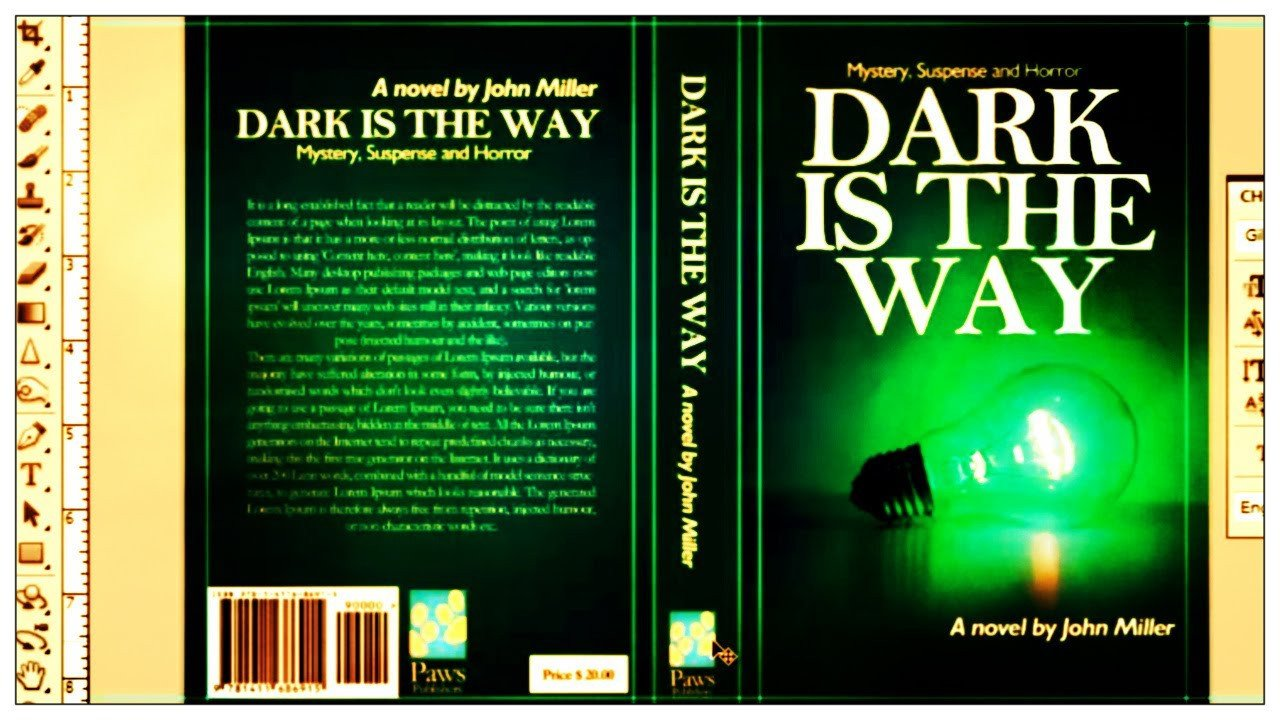 Photoshop Book Cover Template How to Design A Book Cover In Shop