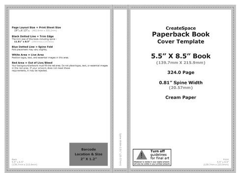 Photoshop Book Cover Template How to Make A Createspace Book Cover In Shop