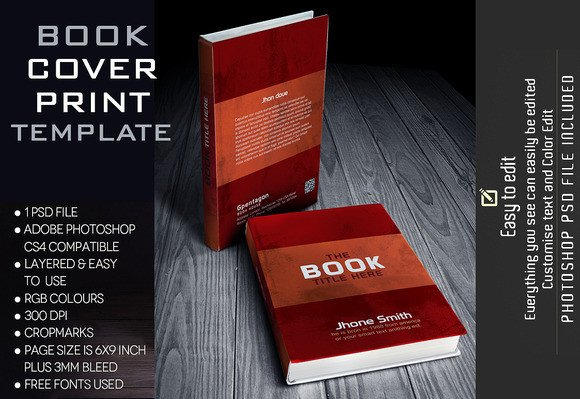 Photoshop Book Cover Template Shop Create Vintage Book Cover Designtube