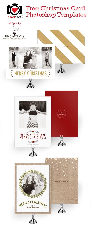 Photoshop Christmas Card Templates 50 Free Holiday Card Templates Moritz Fine Designs