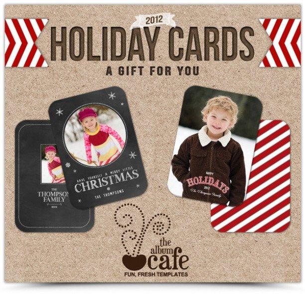 Photoshop Christmas Card Templates Photo Free Christmas Card Shop