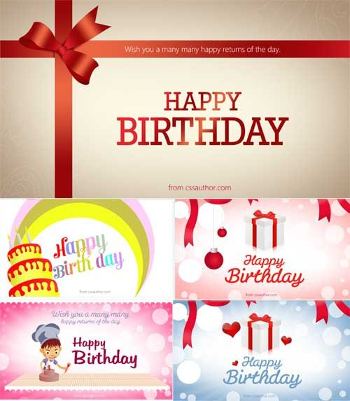 Photoshop Greeting Card Template Birthday Card Template 15 Free Editable Files to Download