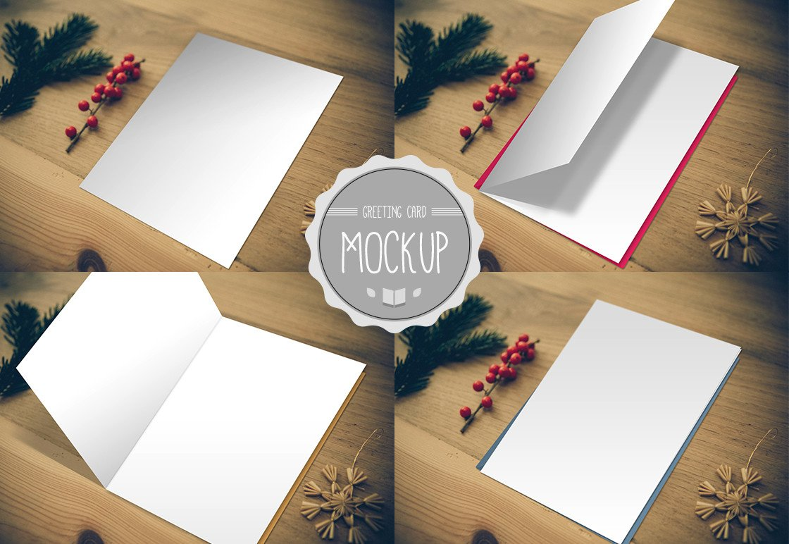 Photoshop Greeting Card Template Free Graphic Templates Resumes Mockups Business Cards