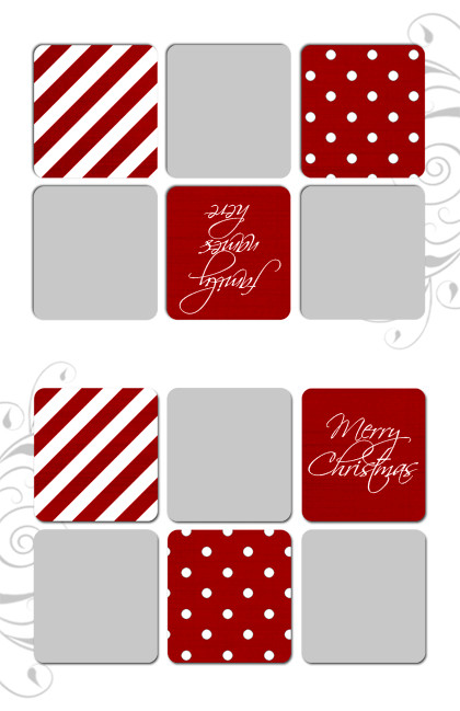 Photoshop Greeting Card Template Inkjet Greeting Card Templates for Shop