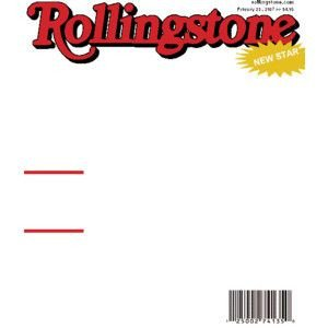 Photoshop Magazine Cover Template Fake Rollingstone Magazine Cover Cool Template themes