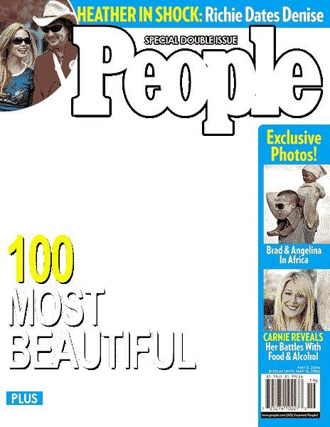 Photoshop Magazine Cover Template Gallery for People Magazine Cover Templates