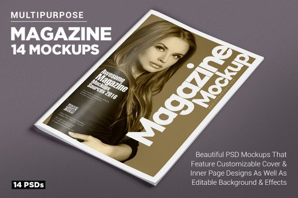 Photoshop Magazine Cover Template Magazine Cover Psd Templates 54 Free Psd Ai Vector