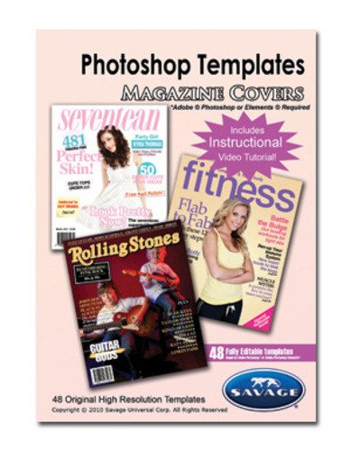 Photoshop Magazine Cover Template Savage Adobe Shop Templates Magazine Covers