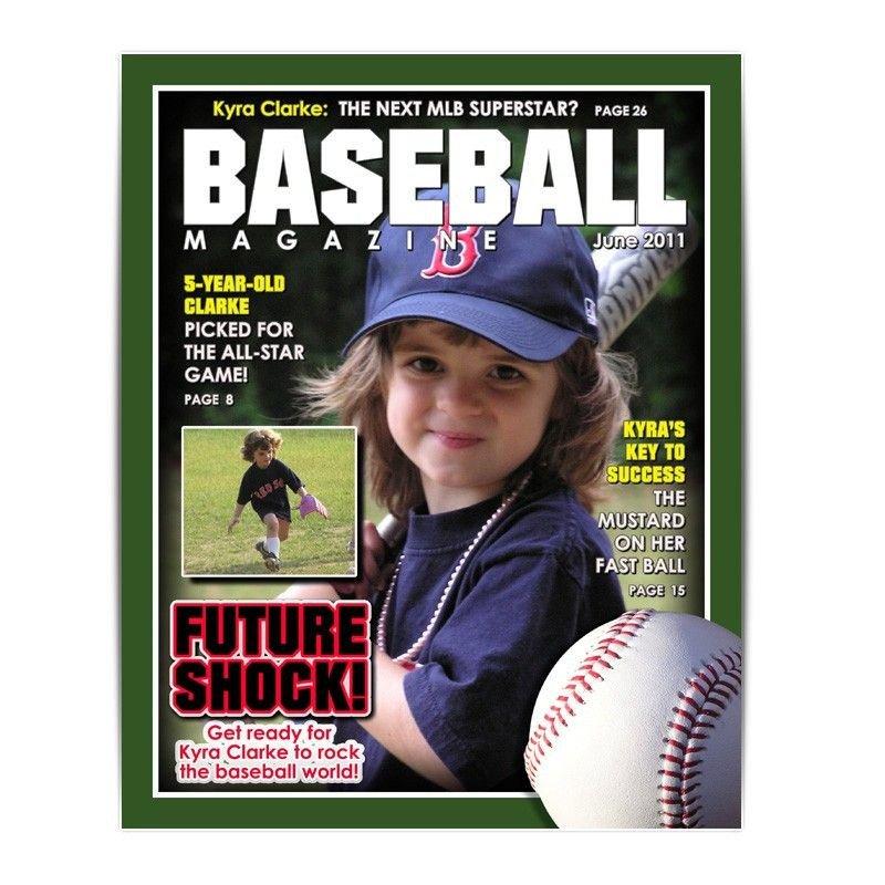 Photoshop Magazine Cover Template Shop Template Sports Design 8x10