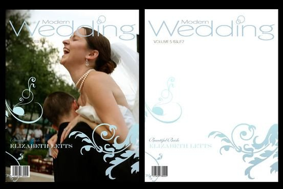 Photoshop Magazine Cover Template Wedding Magazine Frame Cover Shop Templates Psd V3
